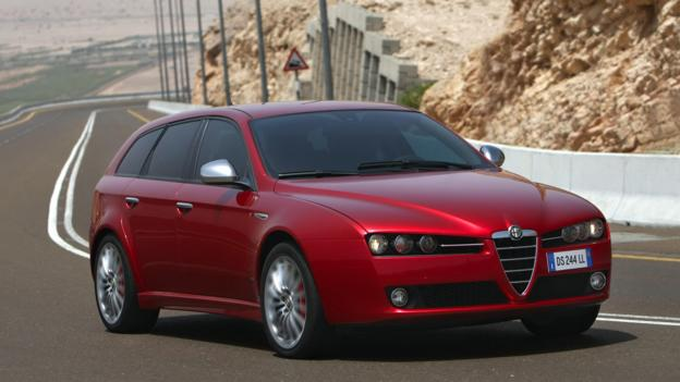 The Alfa Romeo 159 Sportwagon