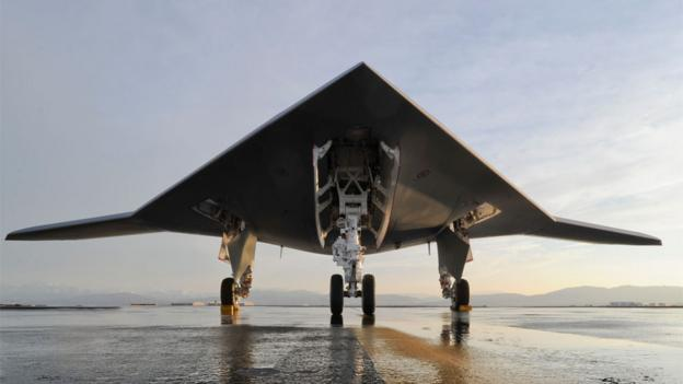 X47-B (Copyright: Northrop Grumman)