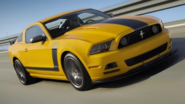 2013 Ford Mustang Boss 302. (Ford Motor)