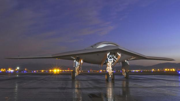 X47b Night X-47b...X 47b At Night
