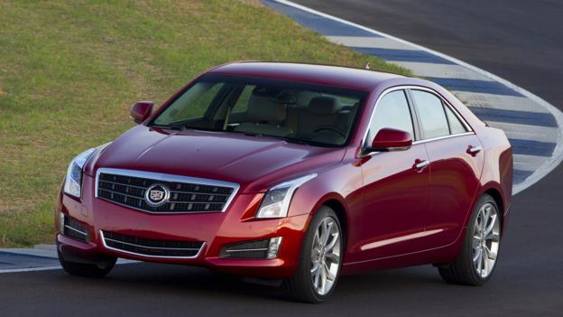 2013 Cadillac ATS 3.6 (Credit: General Motors)