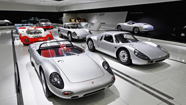 Porsche's secret stash