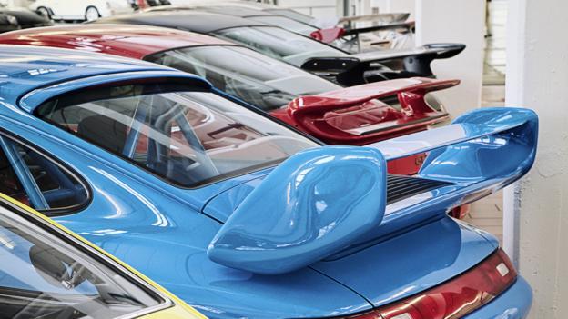 Porsche's secret stash