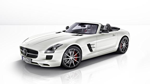 First drive: Mercedes SLS GT (Credit: Mercedes-Benz USA)