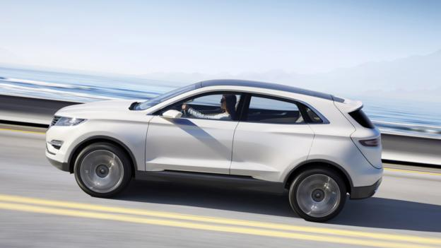 Lincoln MKC Concept (Credit: Ford Motor)