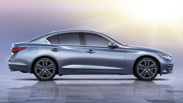2014 Infiniti Q50 (Credit: Nissan North America)