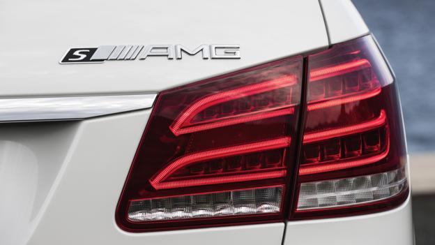 2014 Mercedes-Benz E63 AMG (Credit: Mercedes-Benz USA)