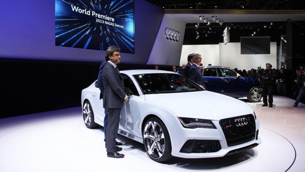 2014 Audi RS7 (Credit: Jeffrey Jablansky)