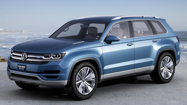 Volkswagen CrossBlue Concept (Credit: Volkswagen of America)