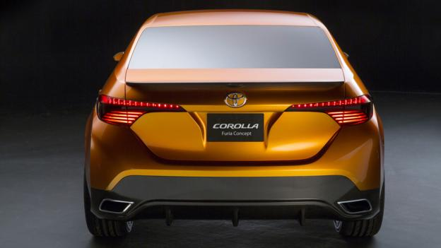 Toyota Corolla Furia Concept (Credit: Toyota Motor Sales)