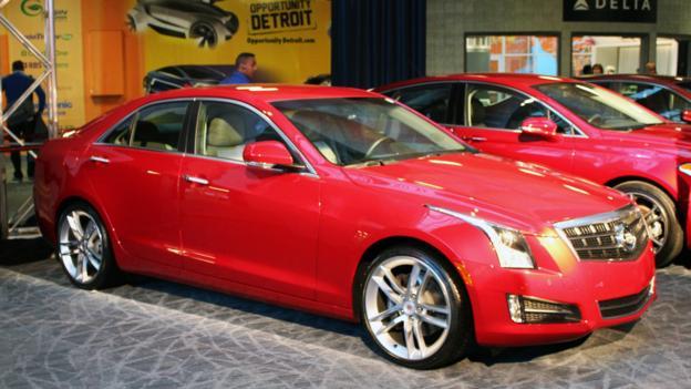 2013 Cadillac ATS (Credit: Jeffrey Jablansky)