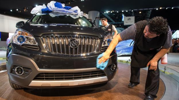 2013 Buick Encore (Credit: General Motors)
