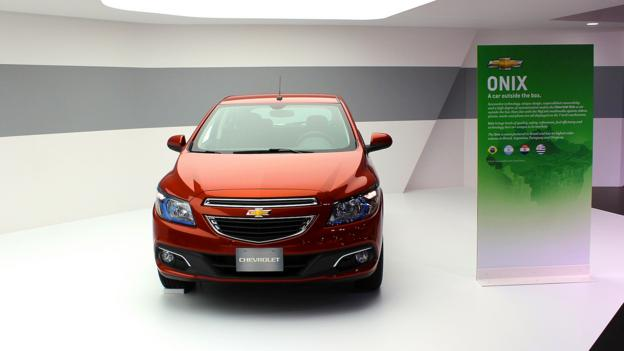 2013 Chevrolet Onix (Credit: Jeffrey Jablansky)