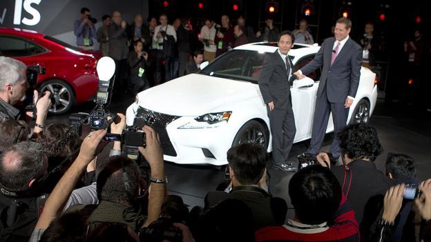 2014 Lexus IS (Credit: Toyota Motor Sales)