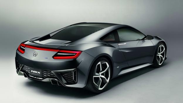 Acura NSX Concept (Credit: American Honda)