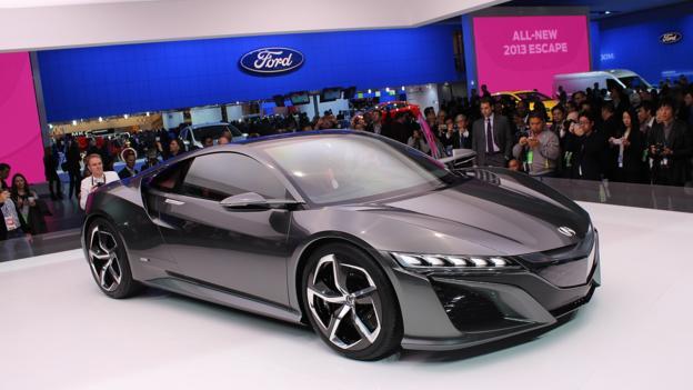 Acura NSX Concept (Credit: Jeffrey Jablansky)