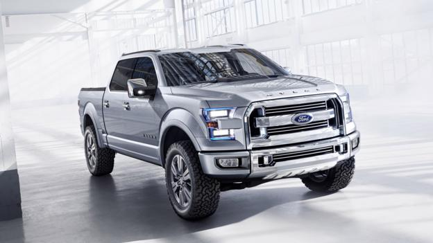 Ford Atlas Concept (Credit: Ford Motor)