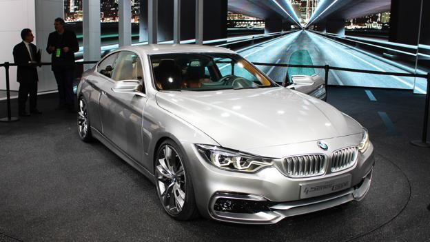 BMW Concept 4 Series Coupe (Credit: Jeffrey Jablansky)