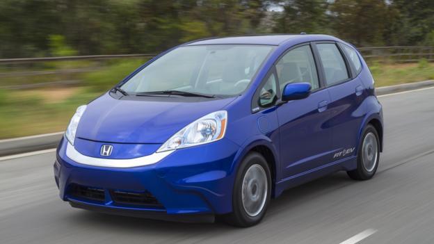 2013 Honda Fit EV (Credit: American Honda)