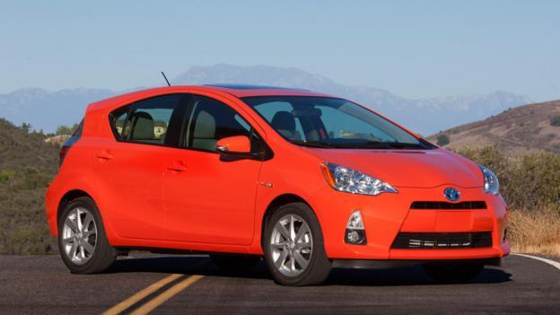 2013 Toyota Prius C (Credit: Toyota Motor Sales)