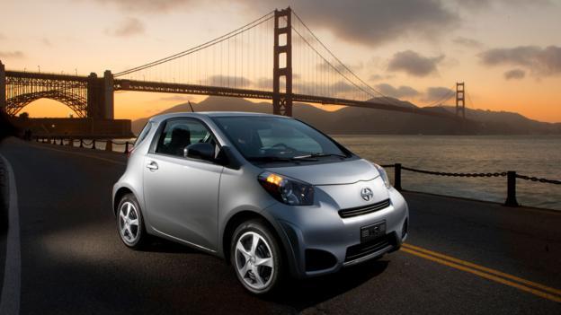 2013 Scion iQ (Credit: Toyota Motor Sales)