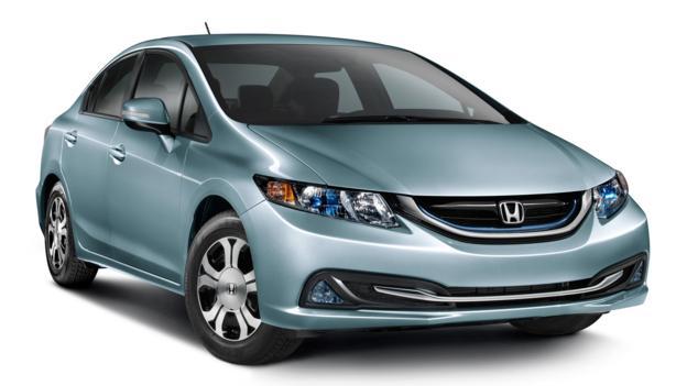 2013 Honda Civic Hybrid (Credit: American Honda)