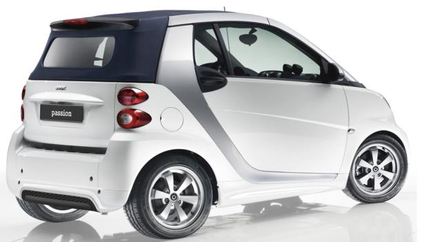 2013 Smart Fortwo (Credit: Mercedes-Benz USA)