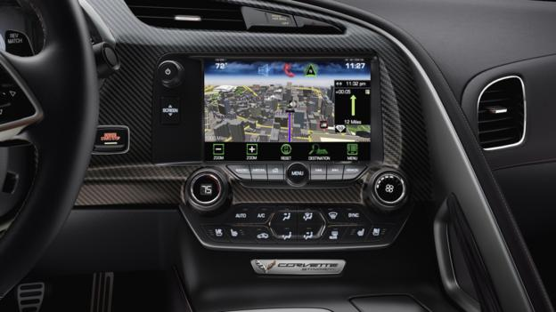 To the left of the nav screen, a simple but sensational switch. (General Motors)