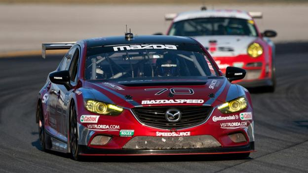 Diesels at Daytona (Credit: Mazda North America)