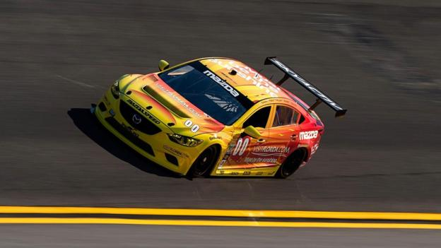 Rolex 24 at Daytona (Credit: Mazda North America)