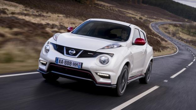 2013 Nissan Juke Nismo (Credit: Nissan Motor)