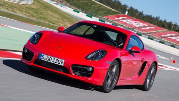 2013 Porsche Cayman (Credit: Porsche Cars)