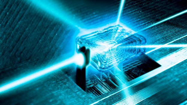Quantum Computer conceptual image (Copyright: SPL)