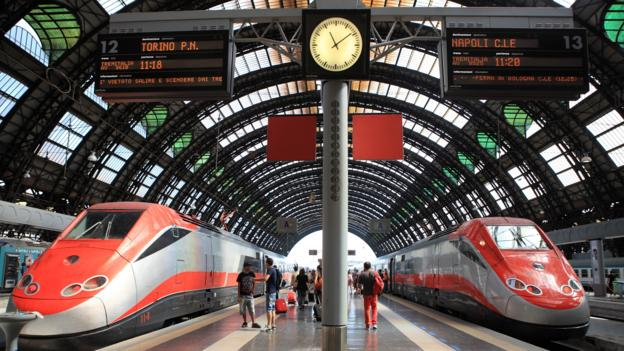 travel story sites booking european rail tickets