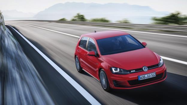 Volkswagen Golf GTD MkVII (Credit: Volkswagen of America)