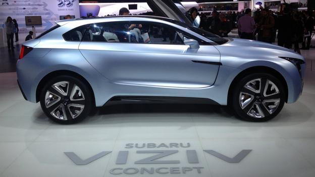 Subaru Viziv Concept (Credit: Matthew Phenix)