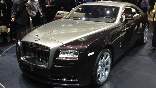 Rolls-Royce Wraith (Credit: Matthew Phenix)