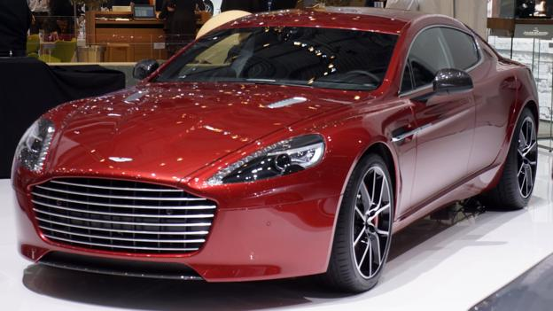 2014 Aston Martin Rapide S (Credit: Newspress)