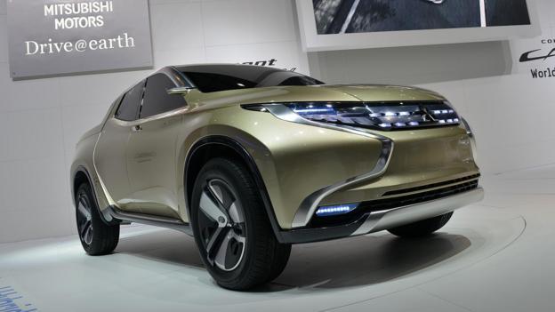 Mitsubishi Concept GR-HEV (Credit: Newspress)
