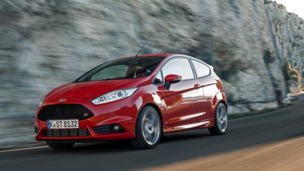 2013 Ford Fiesta ST (Credit: Ford Europe)
