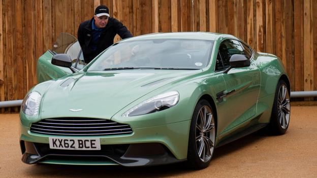 Aston Martin Vanquish (Credit: Aston Martin)