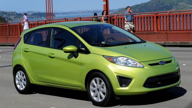 Ford Fiesta (Credit: Ford Motor)
