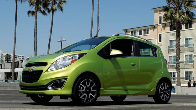 Chevrolet Spark (Credit: General Motors)