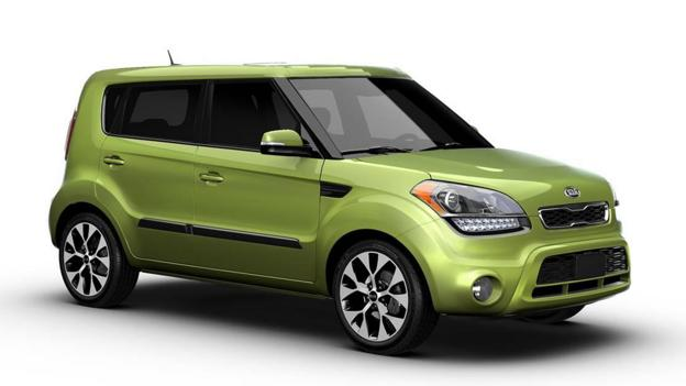 Forest Green Kia Soul >> BBC - Autos - For St Patrick's Day, 10 cars worth a kiss