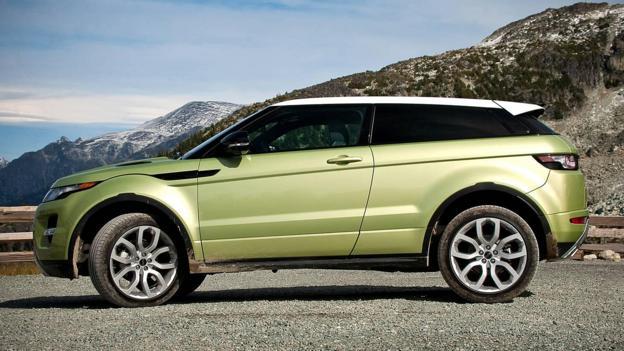 Land Rover Evoque (Credit: Jaguar/Land Rover)