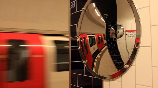 London's Underground (Credit: Laurence Coss/BBC)