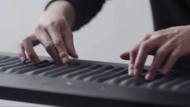 The Seaboard keyboard (Copyright: Roli)