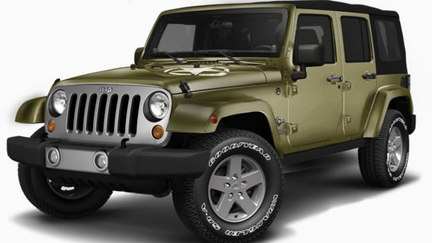 Jeep Wrangler Freedom Edition (Credit: Chrysler Group)