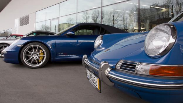 911 heritage (Credit: Porsche Cars)