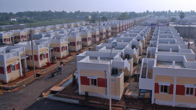 Bbc future bringing mod cons to the slums for Affordable house building
